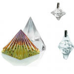 BioGenesis Lichtinstrumenten Multi Colored Pyramid, 8 Sided Pyramid Shield Large Shield Small